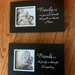 Family and Friends Pair Frames